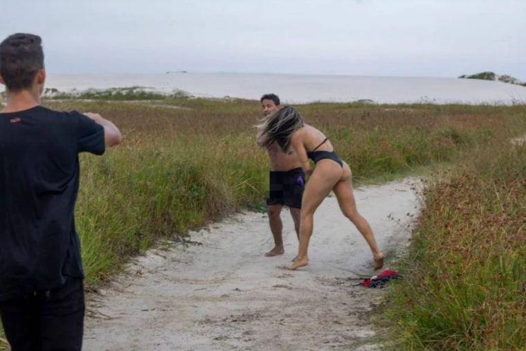 Lutadora de MMA bate em homem que a assediava em praia do RJ