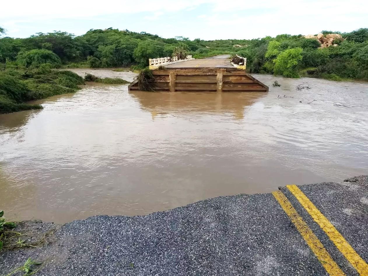 Por causa de rompimento de barragens, Governo do RN decreta situação de emergência em 4 municípios