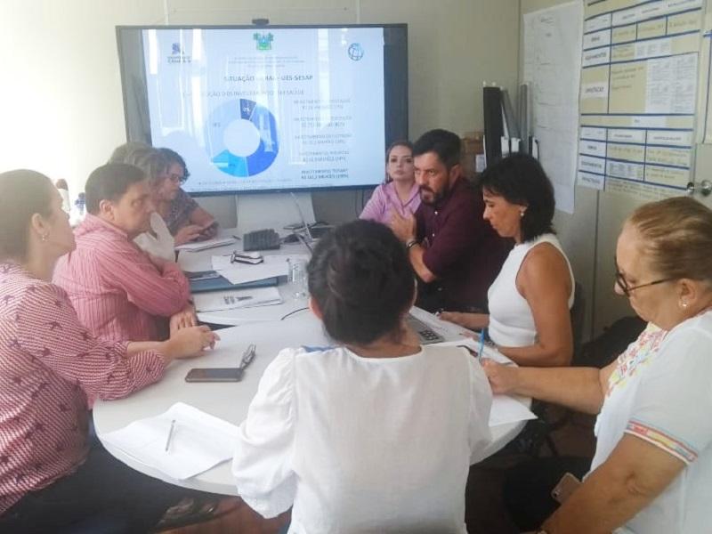 Sesap e Banco Mundial discutem investimentos na saúde no projeto Governo Cidadão