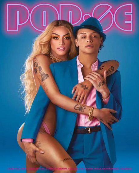 Pabllo Vittar brinca com gêneros em capa de revista