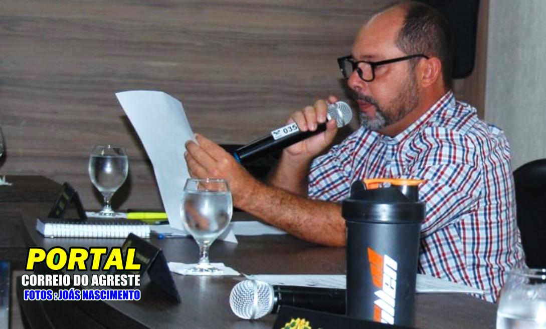 Vereador Jorge Motta faz convite a população de Georgino Avelino para prestigiar entrega de duas novas Ambulâncias