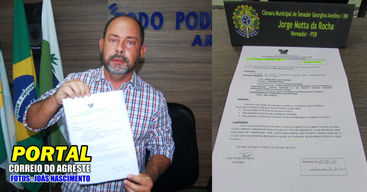 Vereador Jorge Motta faz indicação ao Executivo para recuperação e manutenção de prédios públicos