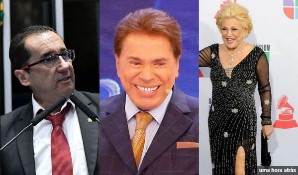 Vídeo: Kajuru diz que Hebe teve relação sexual com Silvio Santos