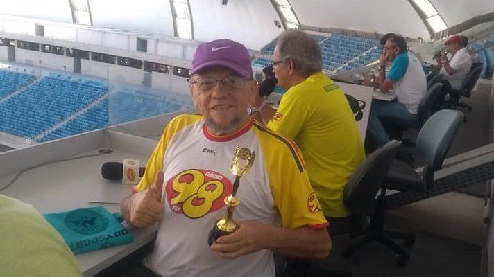 Corpo de Chico Inácio, radialista esportivo de Natal, é velado em Morro Branco