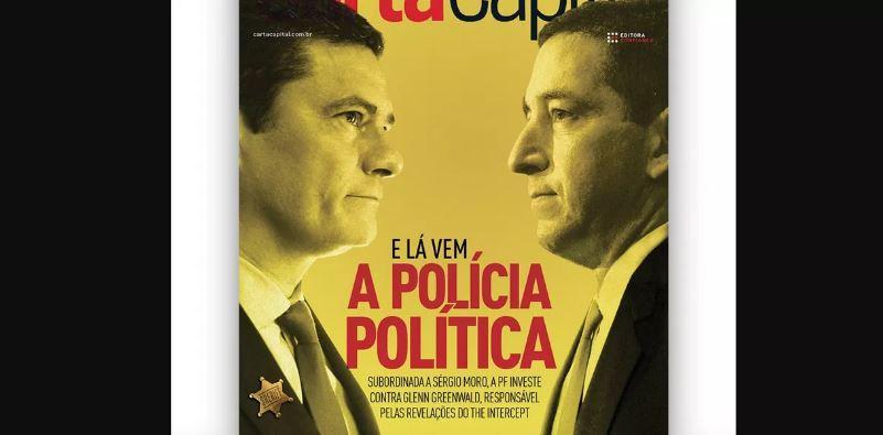 Moro cria polícia política contra Greenwald, aponta Carta Capital