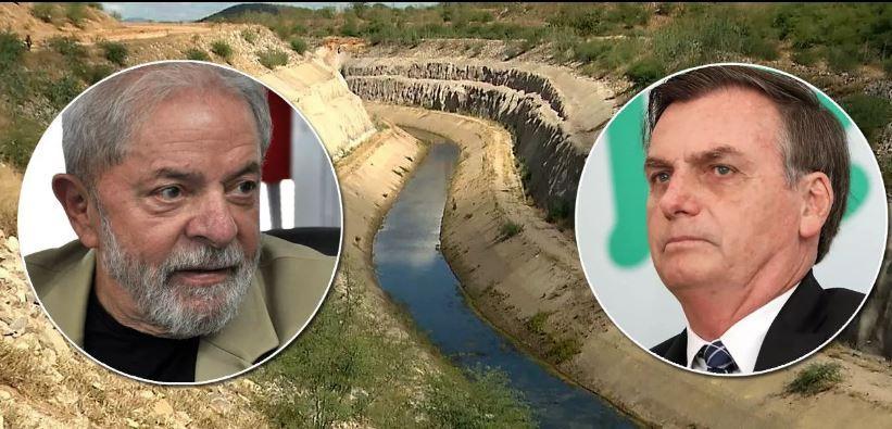 Bolsonaro corta água da transposição e Lula reage: é desumano