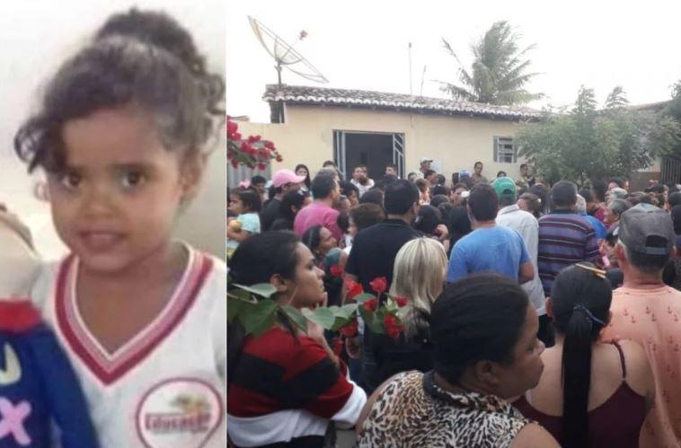 Mãe e padrasto presos no caso de menina morta por asfixia