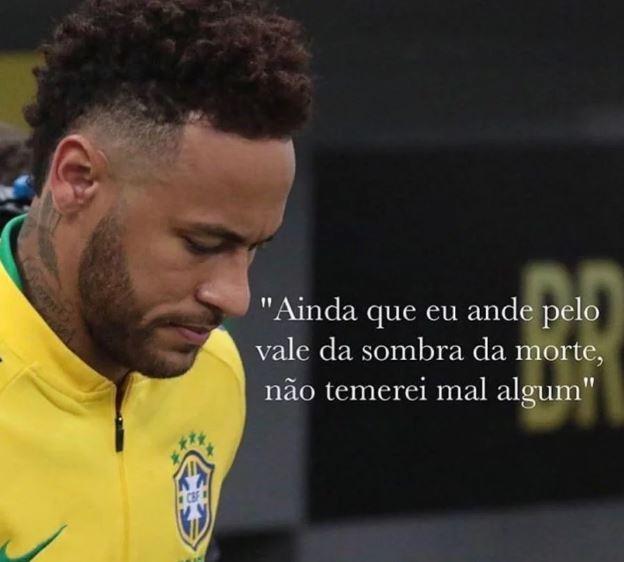 """""""Não vou dizer que estou feliz, mas aliviado"""", diz Neymar sobre Najila"""