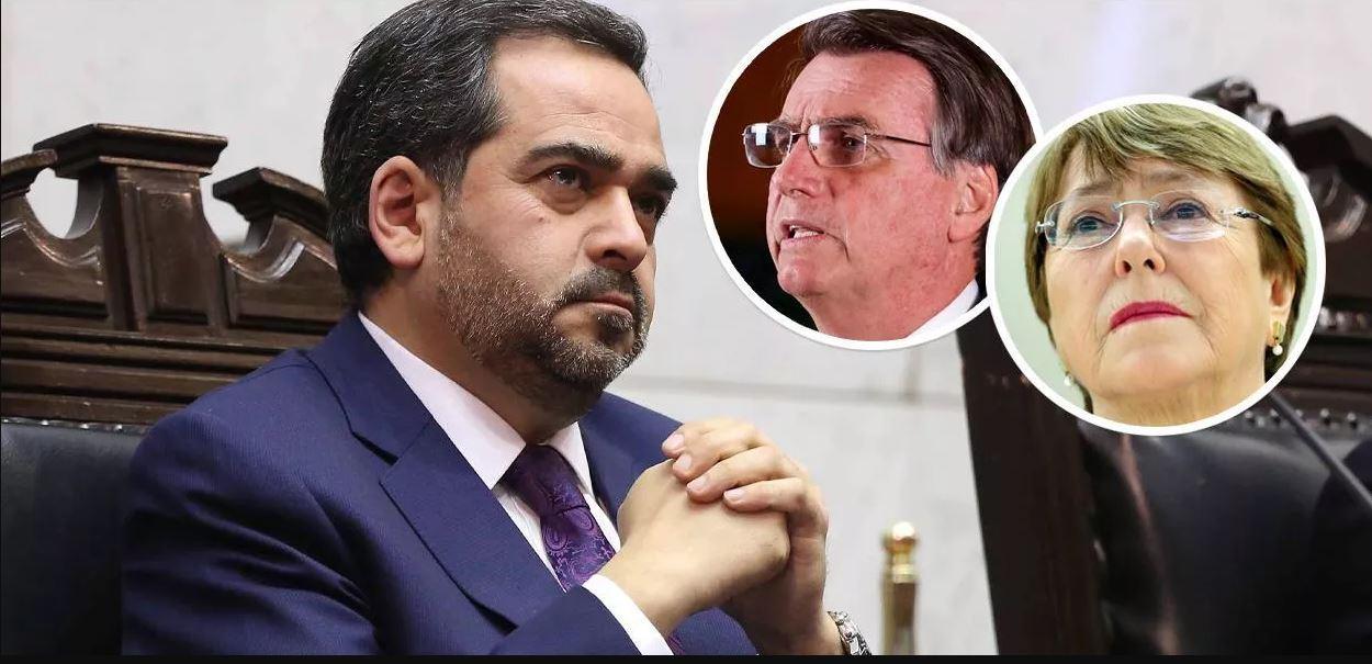 Chile pede reação enérgica contra fala monstruosa de Bolsonaro sobre pai de Bachelet