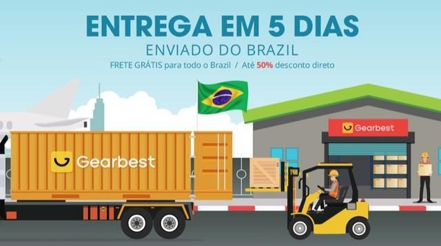 Como fazer compras no site da Gearbest no Brasil