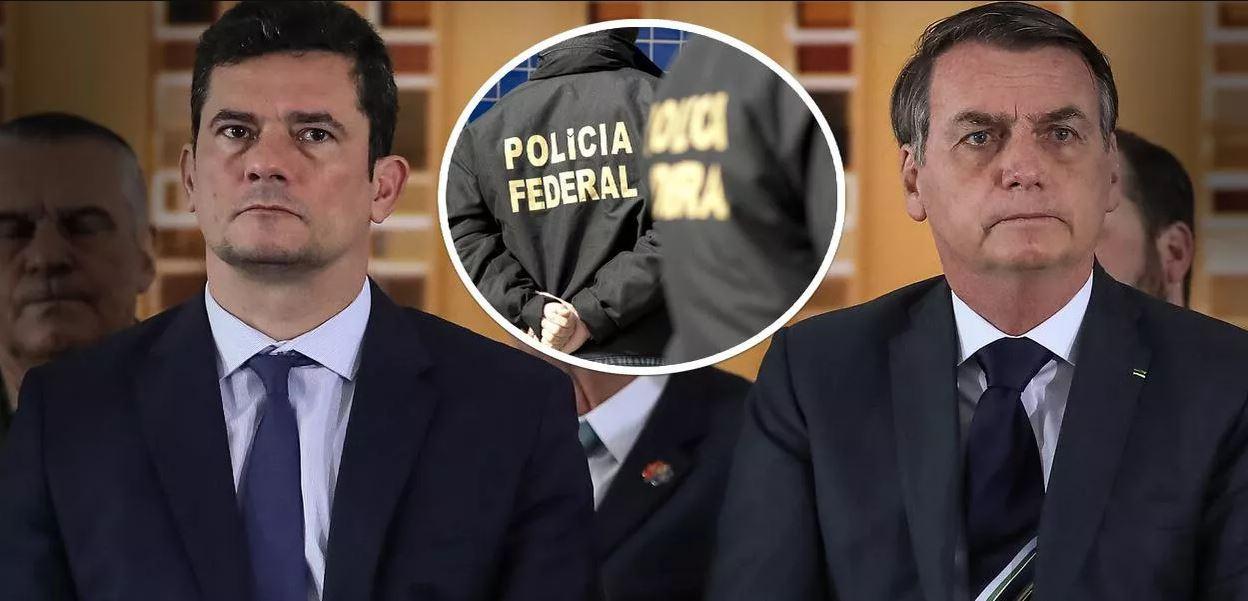 Cúpula da PF cobra demissão de Moro antes que ele seja mais humilhado e vários delegados peçam para sair