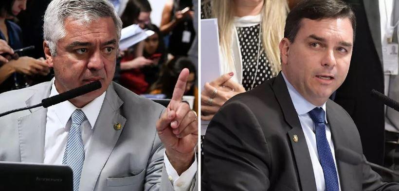Guerra total no bolsonarismo: Major Olímpio quer Flávio fora do PSL
