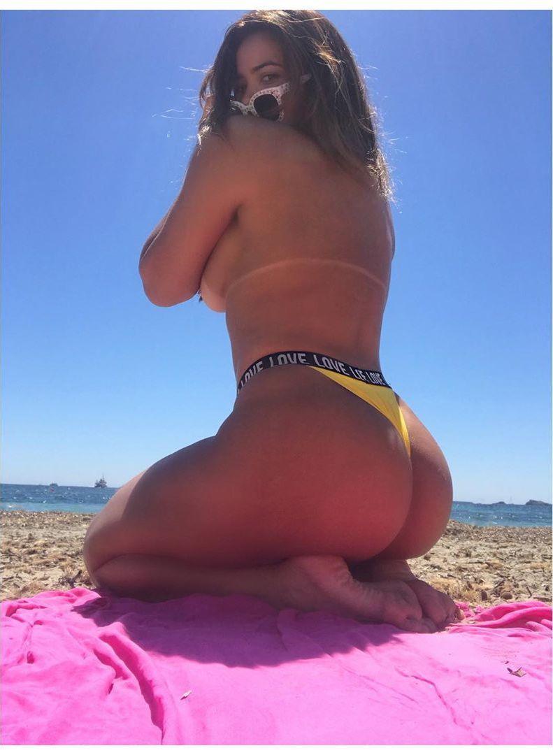 Mostrou demais? Geisy Arruda posa de topless e deixa fãs intrigados