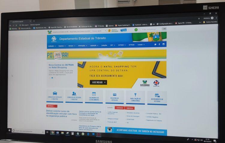 Falha de segurança no Detran-RN expõe na web dados pessoais de 70 milhões