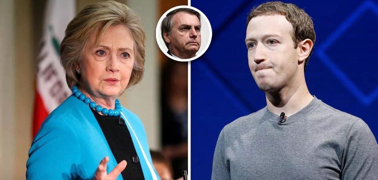 Hillary Clinton defende que Facebook seja punido por minar a democracia