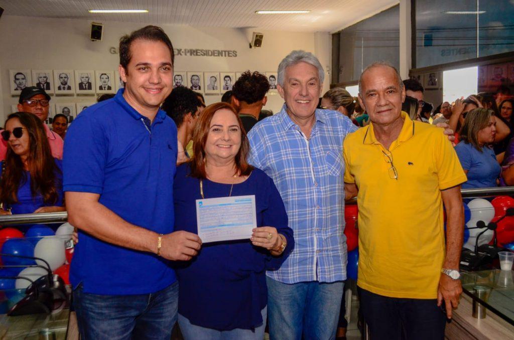 Grande festa em Parnamirim marcou filiação da vice-prefeita Elienai Cartaxo ao PL
