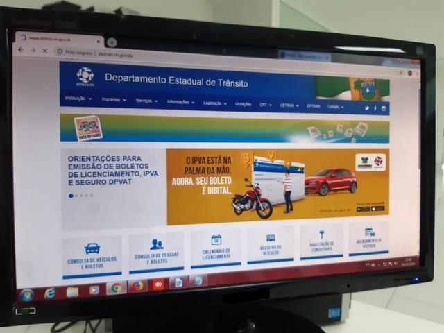 Detran oferece renovação de CNH pela internet em Natal