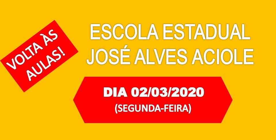 AULAS DA ESCOLA JOSÉ ALVES ACIOLE EM CARNAÚBA INICIAM NA PRÓXIMA SEGUNDA (02)