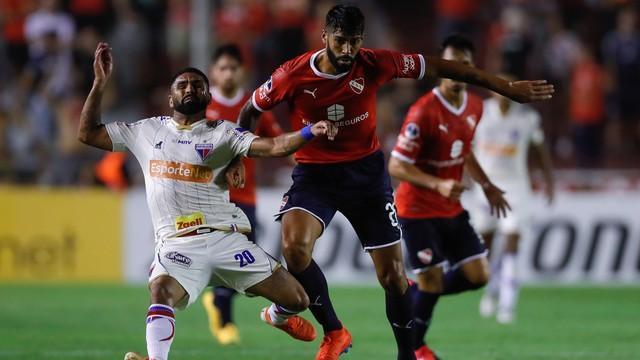 Com gol de Fernández, Independiente vence Fortaleza em 1º jogo da Sul-Americana