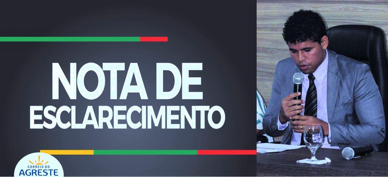 Vereador Elias Rodrigues se pronuncia sobre boatos nas redes sociais e afirma que se mantem como opção do grupo de oposição para disputar o cargo do Executivo