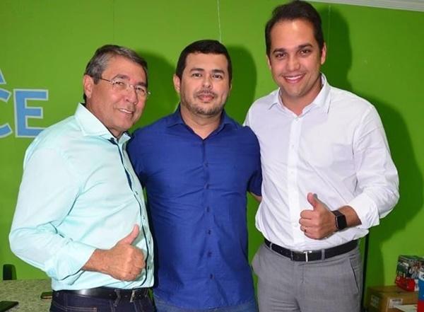 Prefeito Severino anuncia nome de André Rodrigues como pré-candidato à sucessão