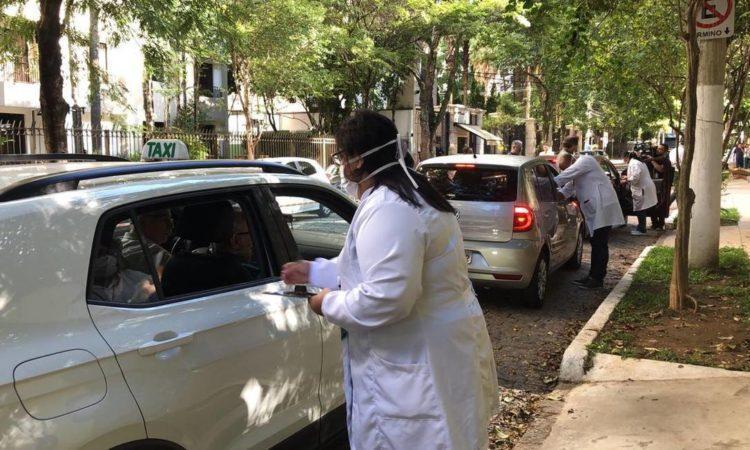 Idosos de Parnamirim poderão ser vacinados contra a gripe sem descer do carro