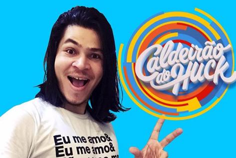 Comediante potiguar participará do programa do Caldeirão do Huck neste sábado