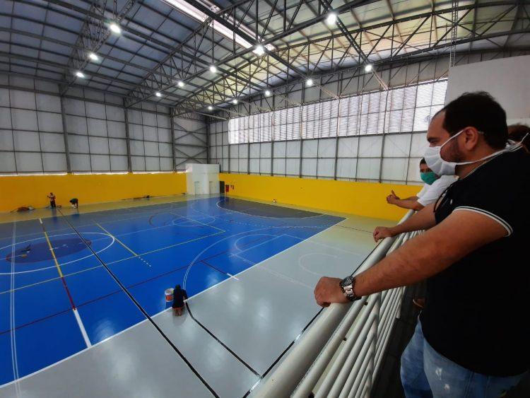 Complexo esportivo, na zona Norte de Natal, dever ficar pronto no próximo mês