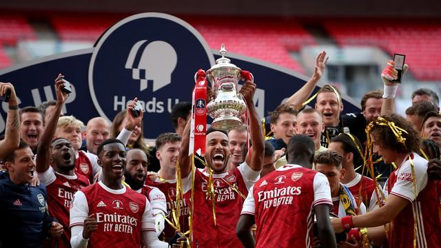Aubameyang é decisivo, Arsenal vence o Chelsea e fatura a Copa da Inglaterra