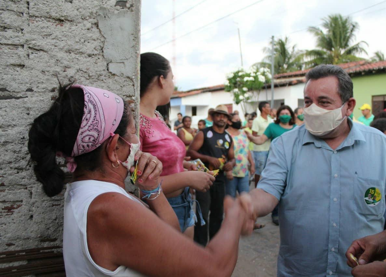 CANDIDATO A PREFEITO ANTÔNIO FREIRE SEGUE CUMPRINDO AGENDA NA CAMPINA, EM CARNAÚBA