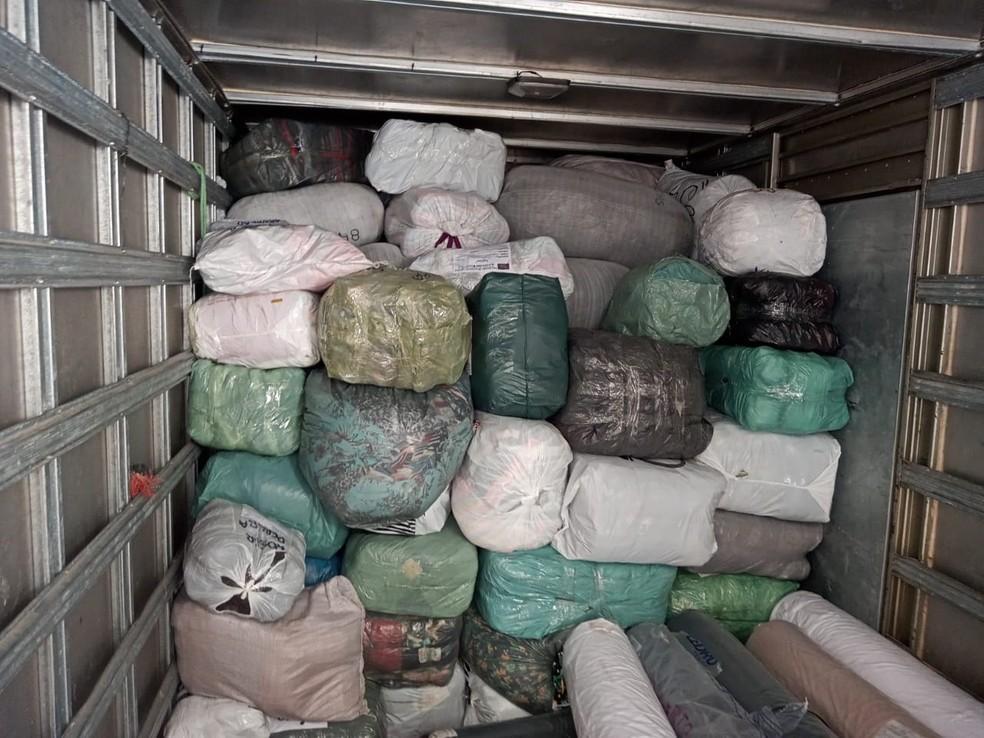 Força-tarefa no RN resulta na apreensão de mercadorias avaliadas em R$ 1,6 milhão