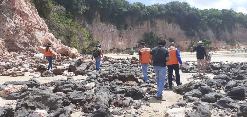 Tragédia em Pipa: força-tarefa é criada pelo governo para fiscalizar área de falésias