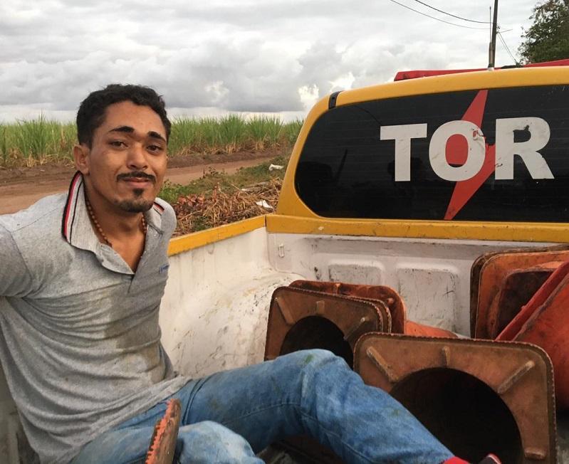 CPRE CAPTURA MAIS UM FORAGIDO DA JUSTIÇA EM NÍSIA FLORESTA