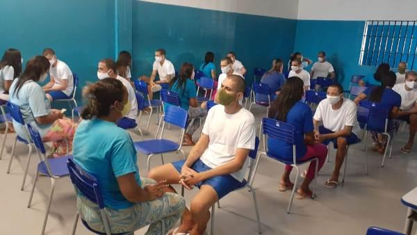 Seap retoma visitas presenciais na Penitenciária de Alcaçuz