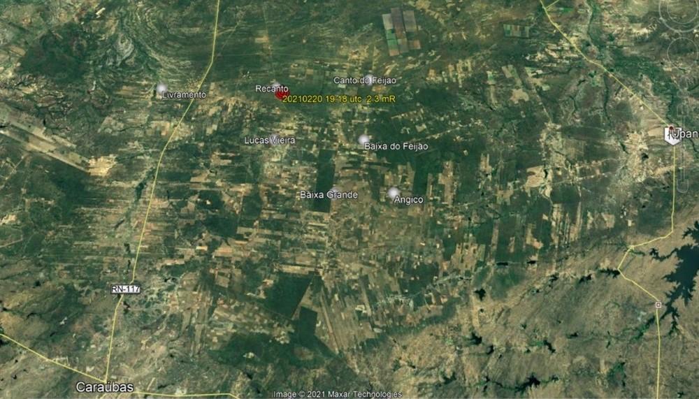 Dois tremores de terra são registrados no Rio Grande do Norte