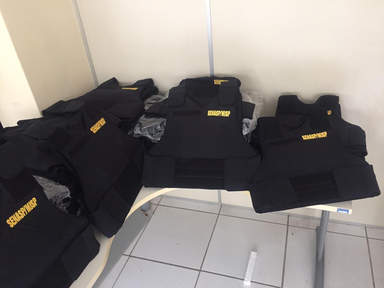 Governo do RN faz entrega de 141 coletes balísticos para a Polícia Civil