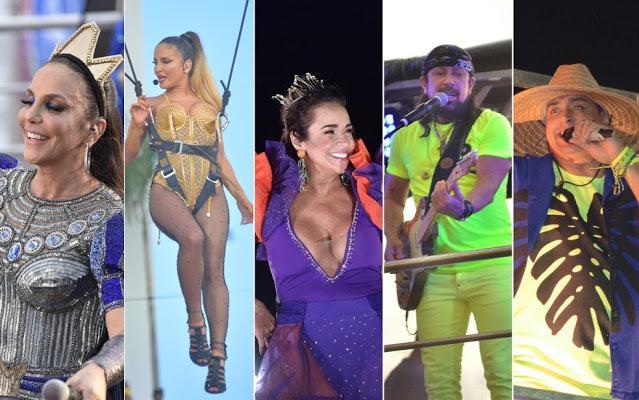 Ivete, Claudia, Daniela, Bell, Harmonia: veja agenda de lives para curtir o carnaval de Salvador em casa