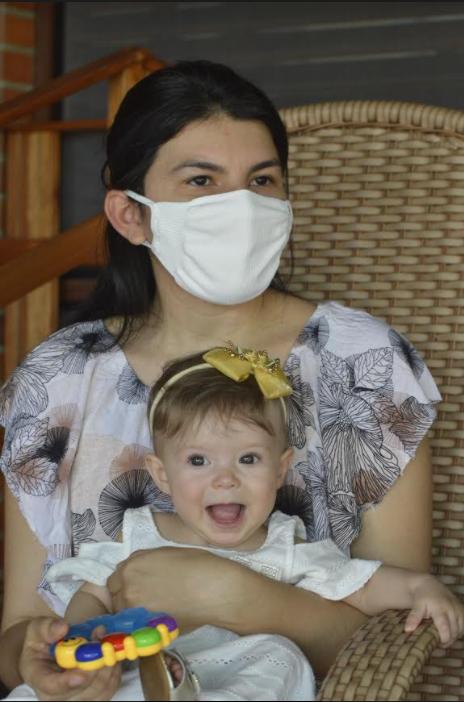 No RN, bebê de 8 meses desenganada vence doença rara no coração após duas cirurgias