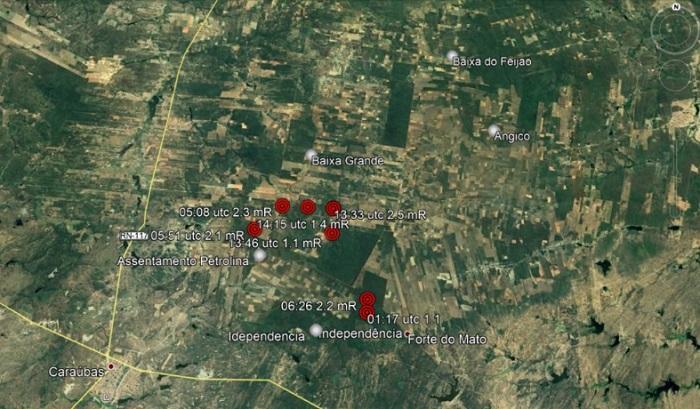 RN registra 10 terremotos em três dias