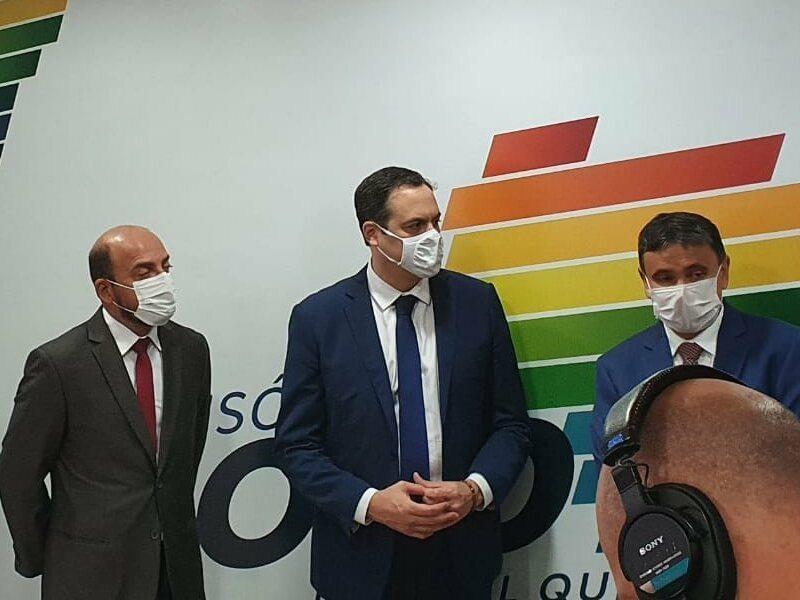 Em Brasília, vice-governador do RN visita farmacêutica que vai produzir vacinas