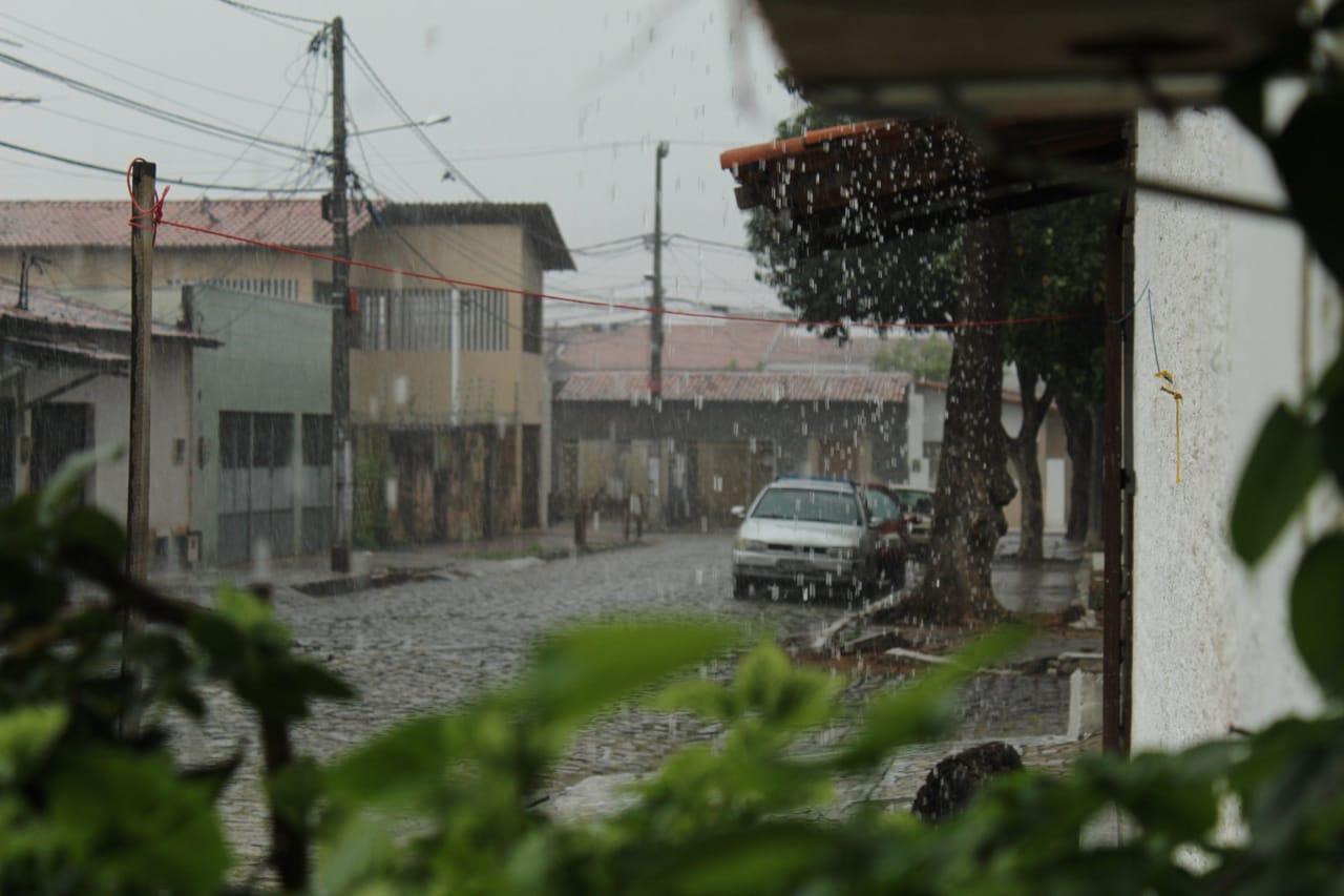 Litoral potiguar em alerta para acumulado de chuva
