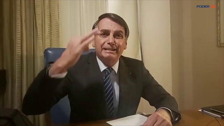 """Bolsonaro sobre eleições no próximo ano: """"Estou me lixando para 2022"""""""