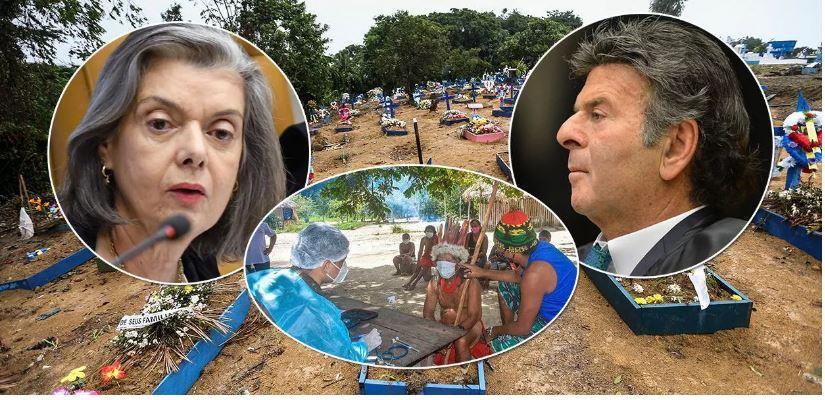 Cármen Lúcia pede que Supremo julgue queixa contra Bolsonaro por genocídio