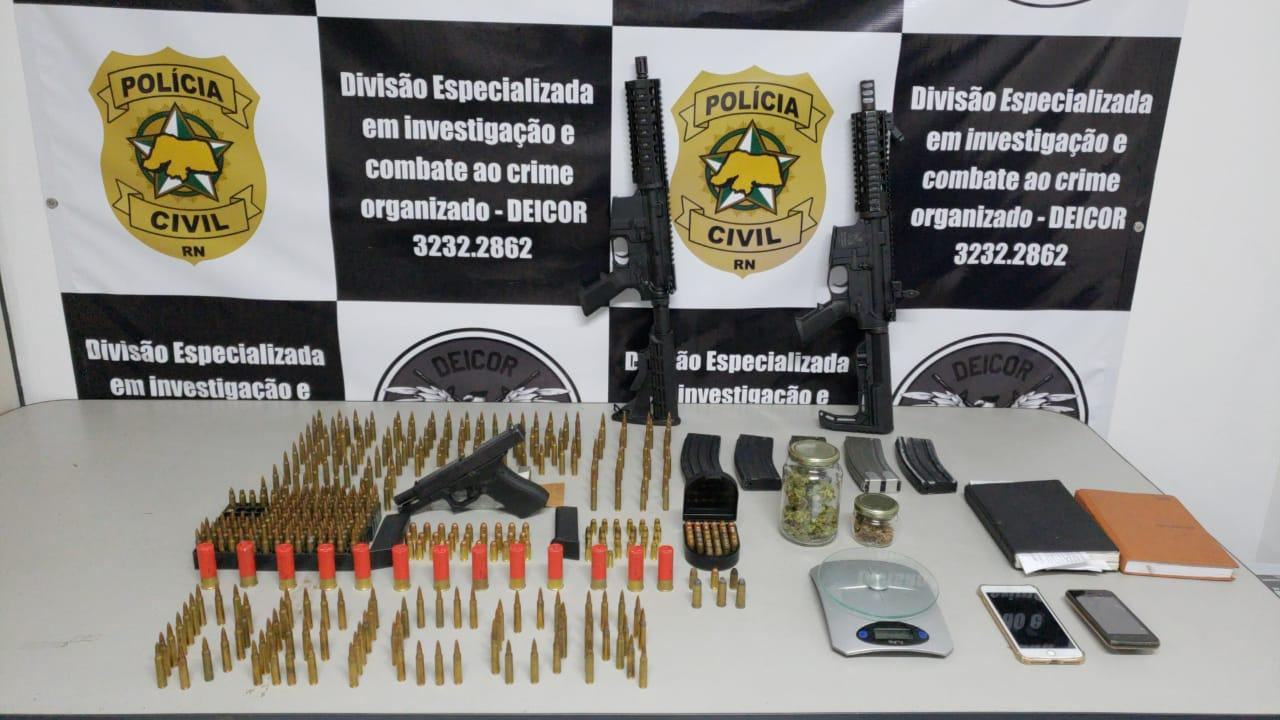 Polícia prende filho de prefeito suspeito de envolvimento em plano para resgatar presos no RN