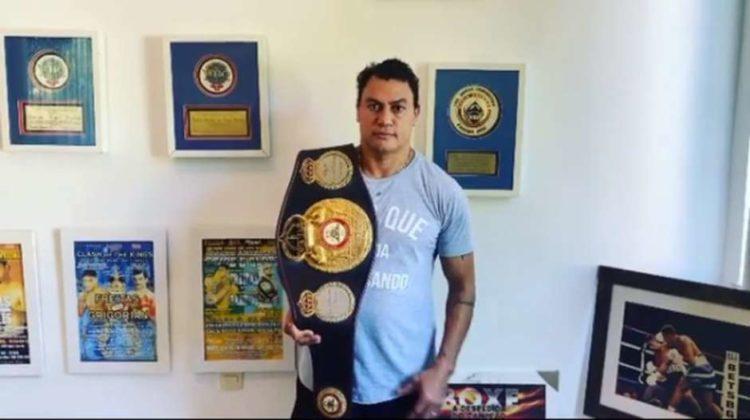 'É a minha bichona', diz ex-lutador Popó sobre filho gay