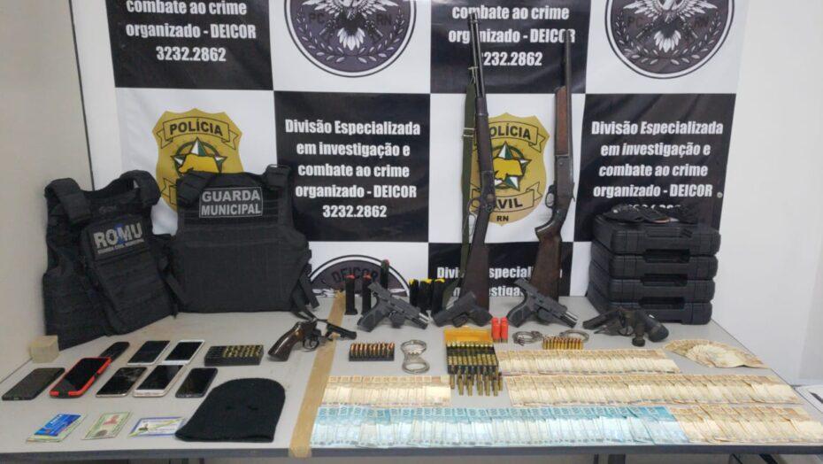 Quatro guardas municipais são presos suspeitos de criar milícia no interior do RN