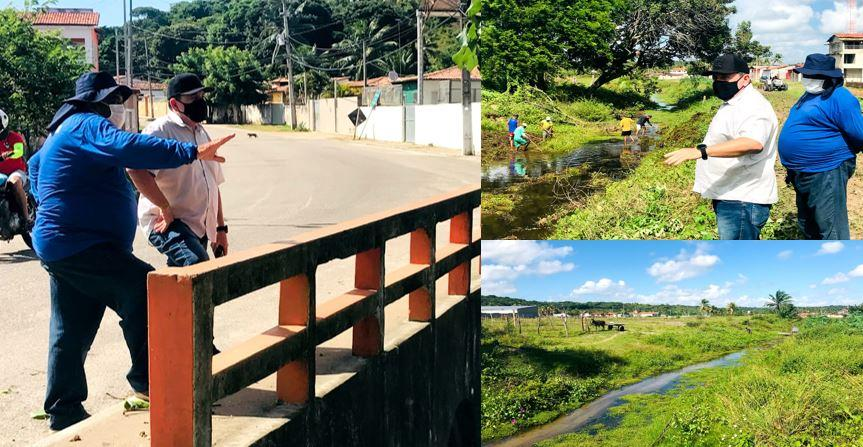 SEMANA DO MEIO AMBIENTE: PREFEITURA DE GEORGINO AVELINO REALIZA LIMPEZA NO RIO PAPEBA